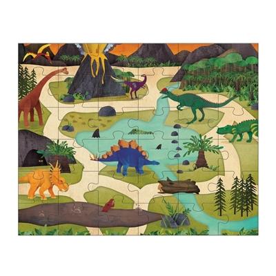 Puzzel en Speelset Dinosaurus Park 36 st.