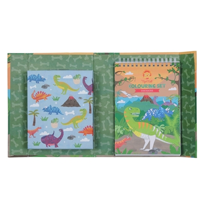 Creatieve Kleurset Dinosaurussen