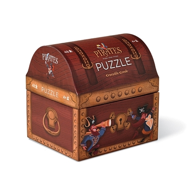 Puzzel Piratenschat 48 st.