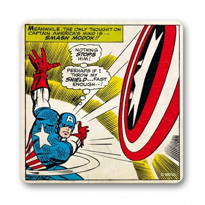 Onderzetter Marvel Comics Captain America