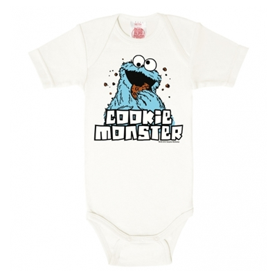 Baby Romper Cookie Monster maat 62/68