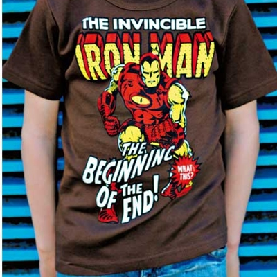 Kids T-shirt Iron Man