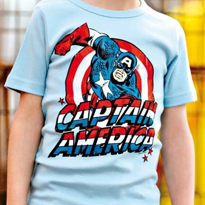 Kids T-shirt Captain America
