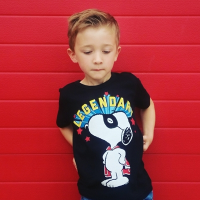 Kids T-shirt Snoopy Legendary