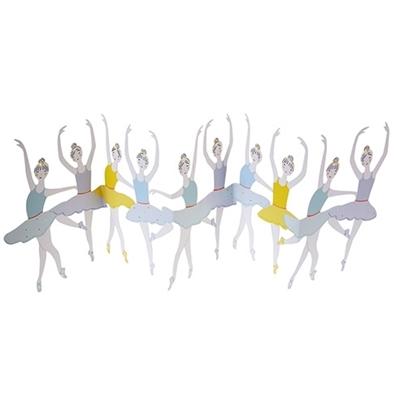 Wenskaart Ballerina's