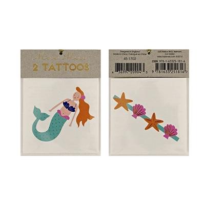 Tattoos Zeemeermin