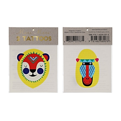 Tattoos Leeuw en Aap