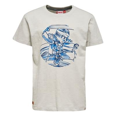 LEGO Wear Ninjago T-shirt Lichtgrijs