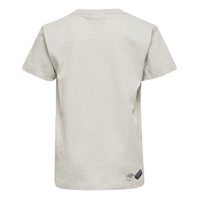 LEGO Wear Ninjago T-shirt Lichtgrijs maat 140