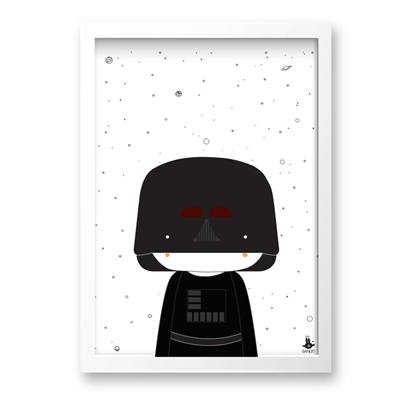 Poster Little Darth A3