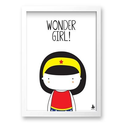 Poster Wonder Girl A3