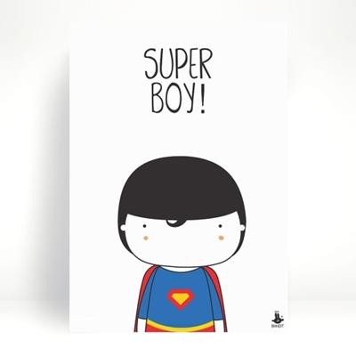 Poster Super Boy A3