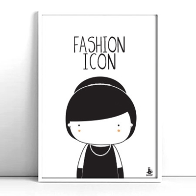 Poster Fashion Icon A4