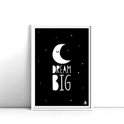 Poster Dream Big A3