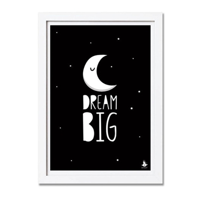 Poster Dream Big A3