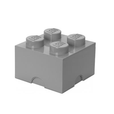 Opbergdoos LEGO Grijs 4
