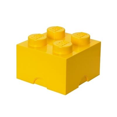Opbergdoos LEGO Geel 4