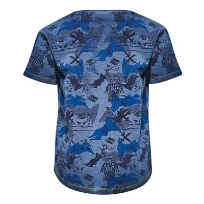 LEGO Wear Ninjago T-shirt Print Blauw