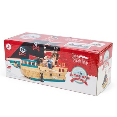 Houten Piratenboot Jolly