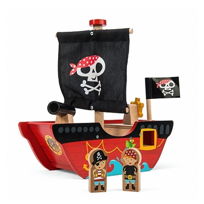 Houten Piratenboot Little Capt'n