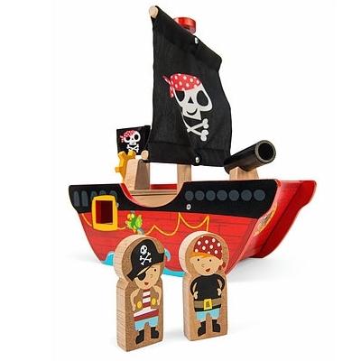 Houten Piratenboot Little Capt'n