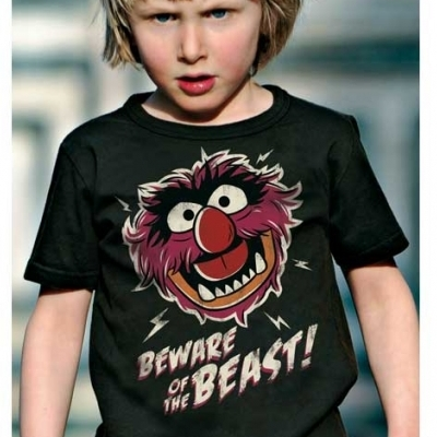 Kids T-shirt The Muppet Show Beware of the Beast