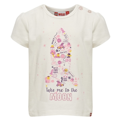 LEGO Wear DUPLO Girls T-shirt Take Me To The Moon