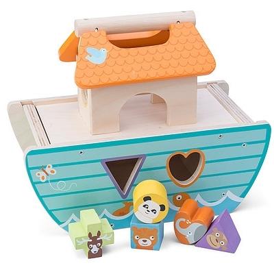 Houten Vormensorteerder Le Petit Ark
