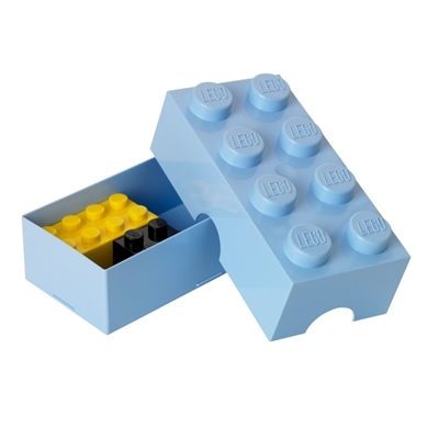 Lunchdoos LEGO Lichtblauw