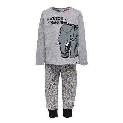 LEGO Wear DUPLO Pyjama Friends of the Savannah Grijs