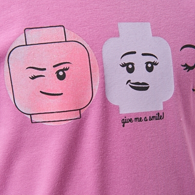 LEGO Wear Girls T-shirt Give me a smile
