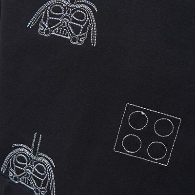 LEGO Wear Star Wars Trui Darth Vader zwart