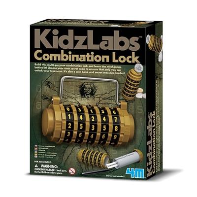 4M Kidzlabs Zelfbouwset Combinatieslot