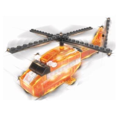 Lichtgevende Bouwset Reddingshelikopter 6 in 1