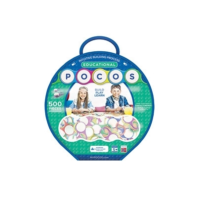 Pocos Letters Educational Bag 500 st