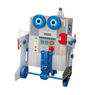4M Zelfbouwset Gemotoriseerde BOX Robot