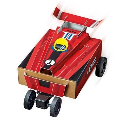 4M Zelfbouwset Gemotoriseerde BOX Racer