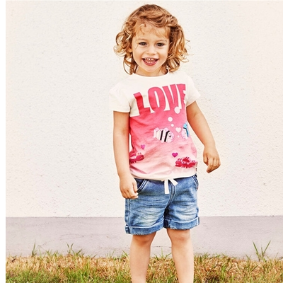 LEGO Wear DUPLO Girls Jeansshort Krab