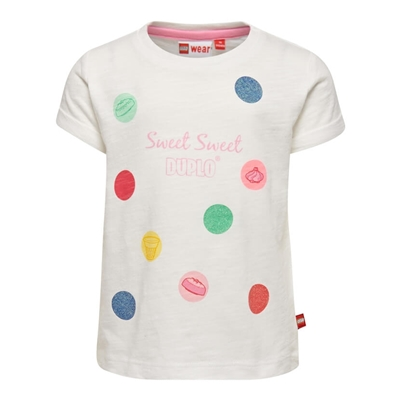 LEGO Wear DUPLO Girls T-shirt Sweet Sweet Duplo wit