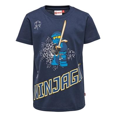 LEGO Wear Ninjago T-shirt Jay blauw