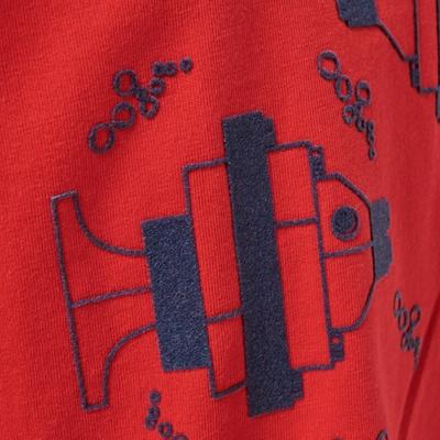 LEGO Wear DUPLO T-shirt Visjes rood