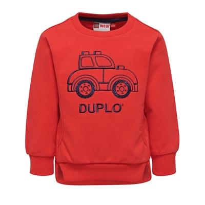 LEGO Wear DUPLO Trui Auto rood