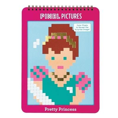 Kleurboek Pixel Pictures Prinses