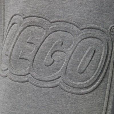 LEGO Wear Classic Kaptrui Logo grijs