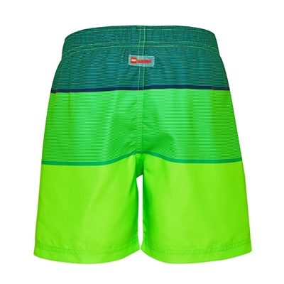 Lego Wear Boys Zwemshort Bricks groen
